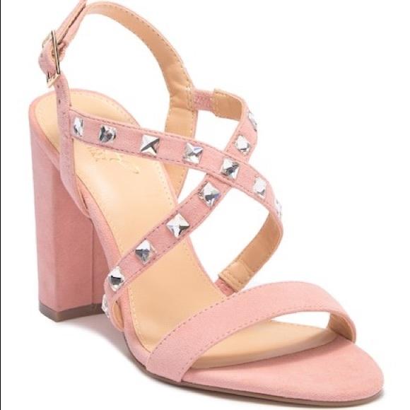 ecaae5c8e976ea Jewel Badgley Mischka Miriam Studded Sandal